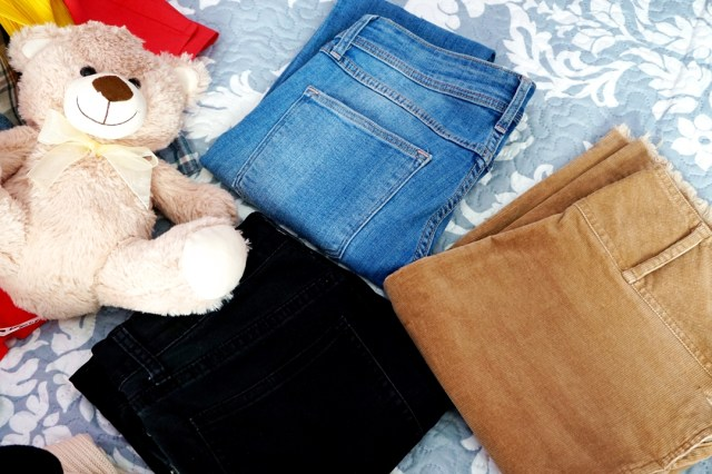 jeans si fusta din second hand-lorys blog