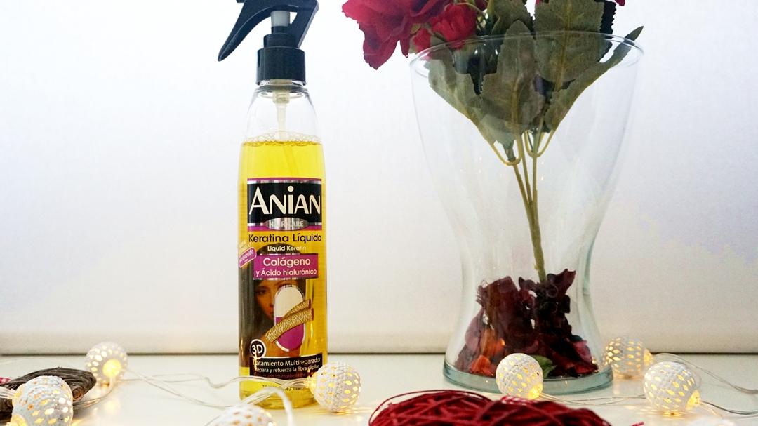 Keratină lichidă cu acid hialuronic și colagen Anian - Triodeluxe.ro