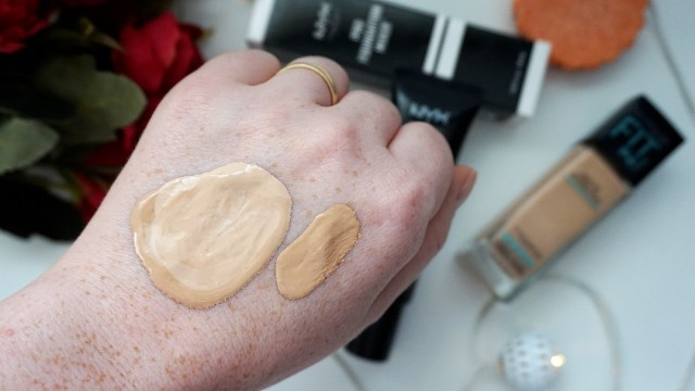 Maybelline Fit me + NYX Pro Foundation Mixer combination