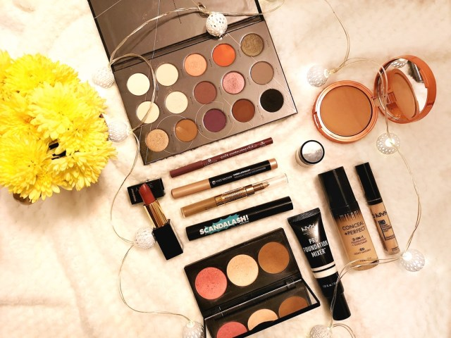Makeup look with Zoeva Palette