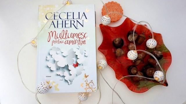 cecelia ahern -multumesc pentru amintiri