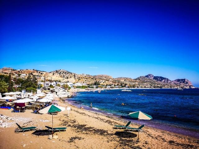 Grande Blue Beach, Rodos, Greece