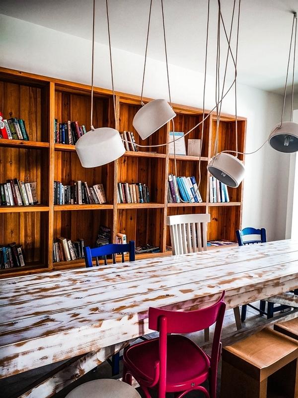 Hotel Orion biblioteca - Faliraki, insula Rodos, Grecia