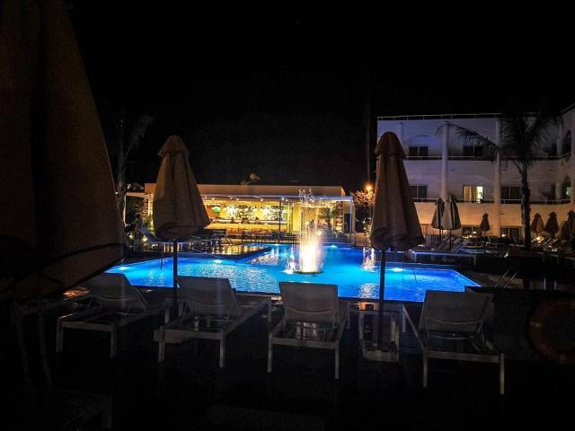Hotel Orion seara - Faliraki, insula Rodos, Grecia