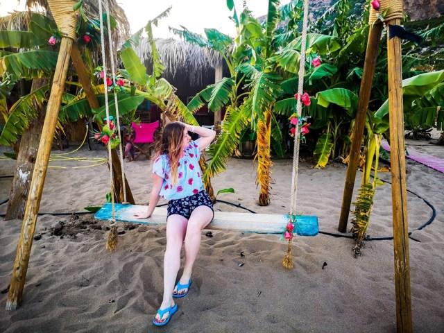 Lorys blog at Tsambika Beach, Rodos