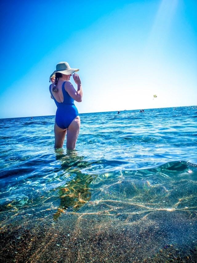 lorys blog in Rodos, at Faliraki Beach