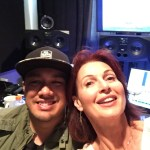Barry Weil Jr. sound master and me!