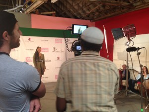 Fashion Film Jonathan Shrader & Major Latimer w/ Renee Knorr on set!