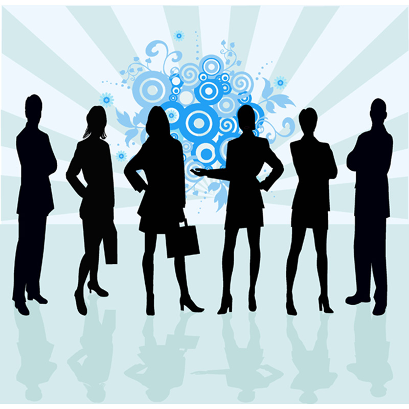 silhouette figures men and women meeting - © Can Stock Photo/ vanias - loreleishellist.com
