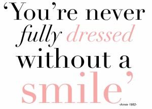 Accessorize - smile!
