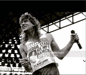 Def Leppards Joe Elliott T-shirt fun