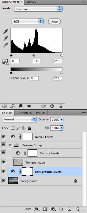 Background Adjustment - Screen Capture