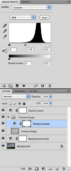 Texture Adjustment - Screen Capture
