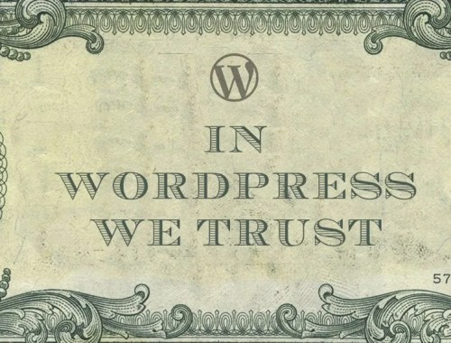 in wordpress we trust
