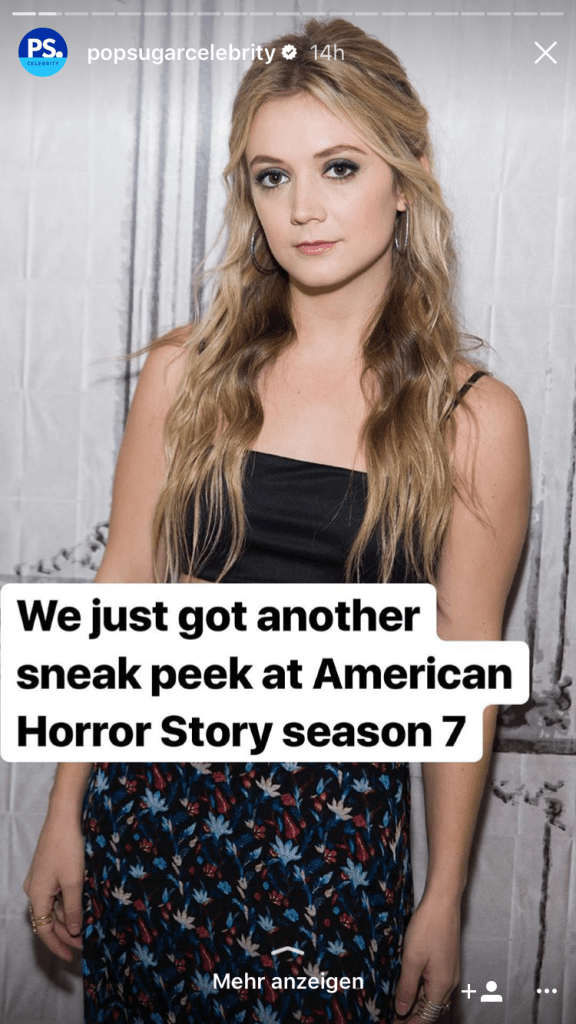 Billie Catherine Lourd - Scream Queens - Links In Instagram: This Is How It Works Without A Verified Account