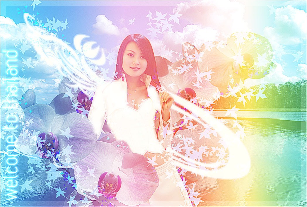 Design Thai-Styled Angelic Artwork From Ordinary Photos
