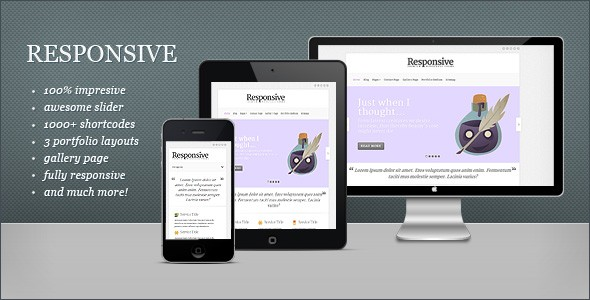 Download The Best Responsive WordPress Theme for Minimal Corporate Design - Blog Lorelei Web Design