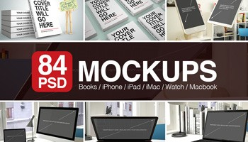 84 PSD Mockups with Books and Apple Devices - Uncategorized Lorelei Web Design