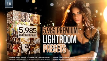 Xmas Special: 5,900+ Premium Lightroom Presets - 95% Off