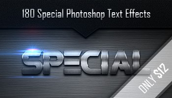 Download 240 Premium Photoshop Text Effect Styles - Big Bundle