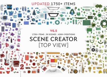 Create Hero Images & Presentations With Bestselling Mokeup Scene Generator - Features Lorelei Web Design