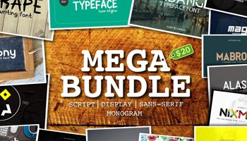 Download 30 Fonts - Mega Bundle With Extended License - Photoshop Resources Lorelei Web Design