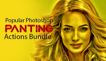 Popular Panting Photoshop Actions Bundle - Photoshop Actions Lorelei Web Design