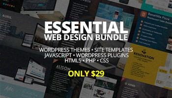 The Biggest Essential Web Design Bundle – Only $29 - Blog Lorelei Web Design