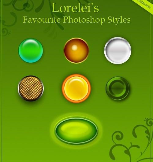 7 Free Photoshop Layer Styles (PSD) - Premium Downloads Lorelei Web Design