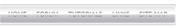 Comprehensive Tutorial for Metallic Navigation Menu - Photoshop Tutorials Lorelei Web Design