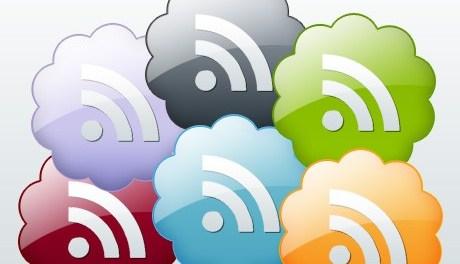RSS feed icons - download free - Blog Lorelei Web Design