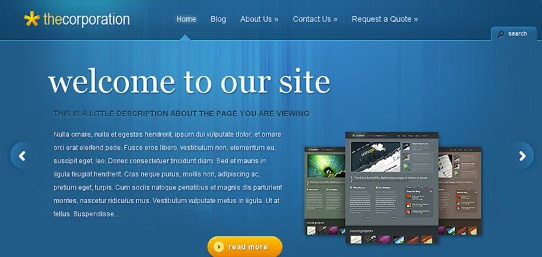 Best Business and Premium Wordpress Themes With Powerful Ajax (Javascript) - Blog Lorelei Web Design
