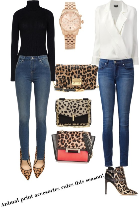 This fall is about...animal print accesories!