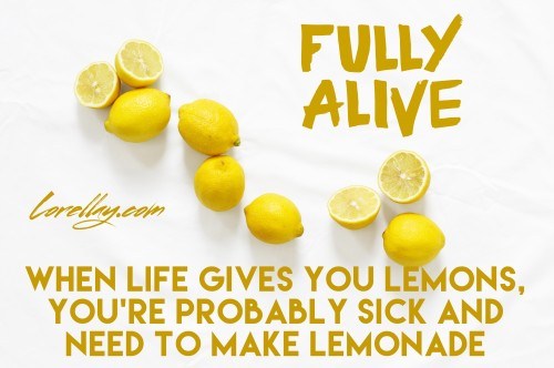 apps to edit images when life gives you lemons quote