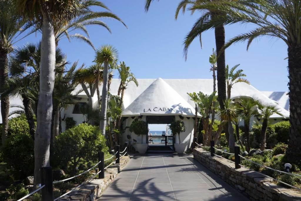 La Cabane EntranceMarbella