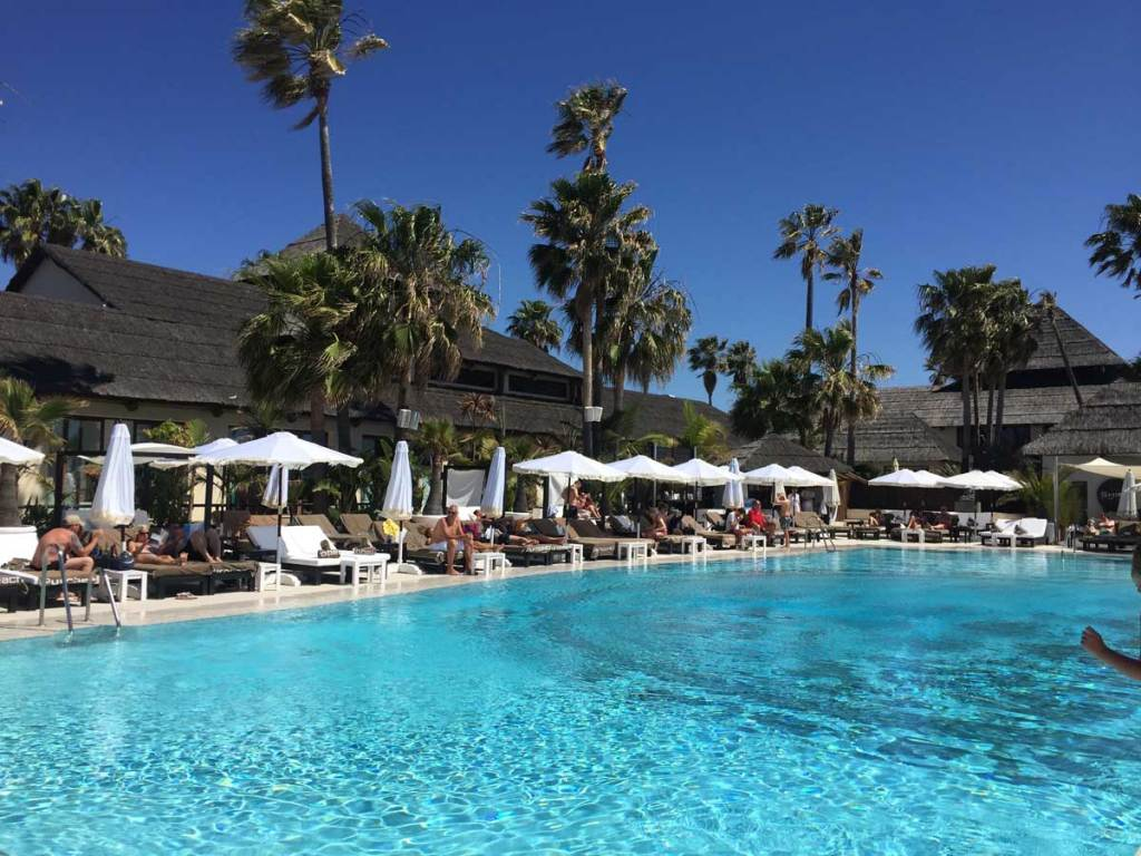 Purobeach marbella pool, guide to marbella
