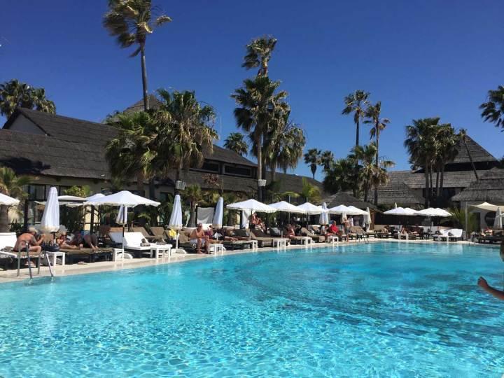 Purobeach marbella pool, guide to marbella
