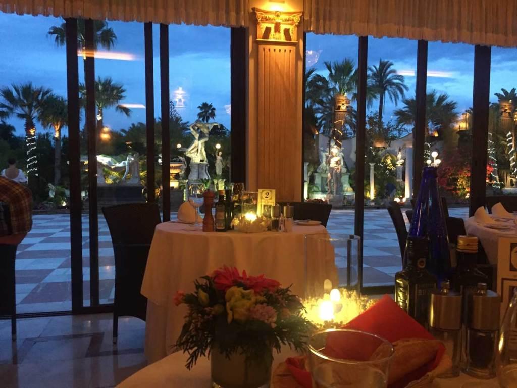 Villa Tiberio best restaurant in marbella