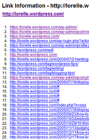 List of Links from Lorelle on WordPress