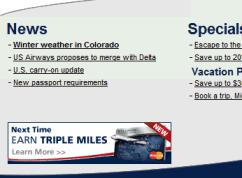 United Airways Weather News