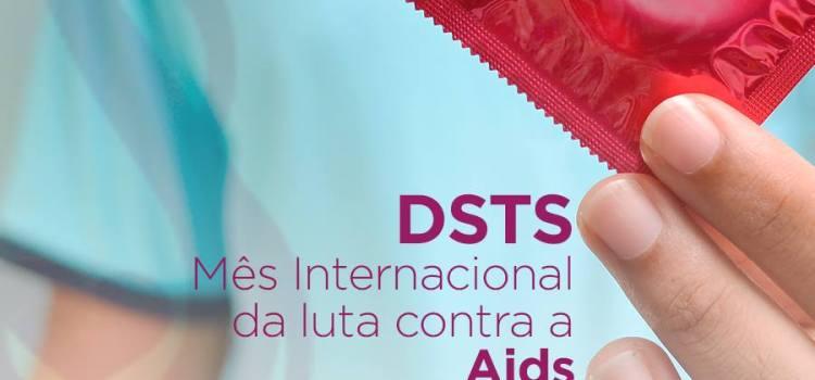 Mês internacional da luta contra a Aids