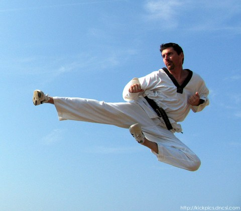 karate, flying kicks, tae kwon do, martial arts, loren avedon, film star, action star
