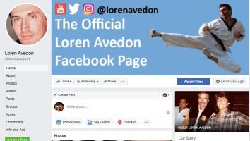 Loren Avedon Facebook Page