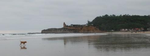 la plage de montanita/montanita beach