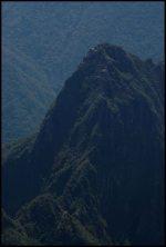 zoom in Huayna Picchu
