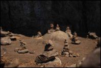 piles de cailloux au sanctuaire / rock pile in the sanctuary