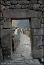 porte principale d'accès au secteur réservé à l'élite inca