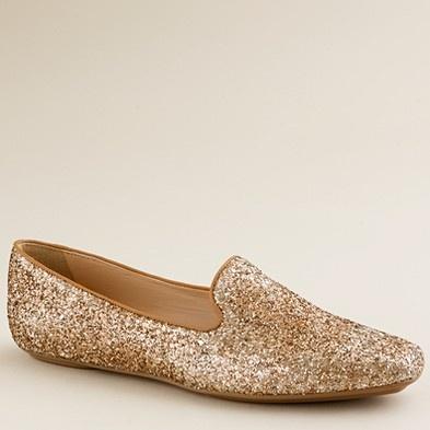 csillámos cipő