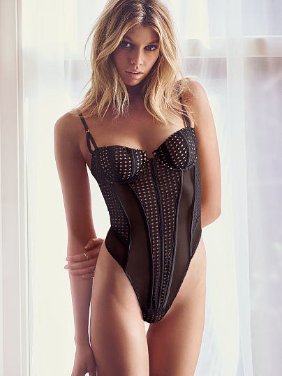 Victorias Secret Fishnet Teddy