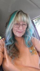 Yvonne - Purple Hair, April 25th